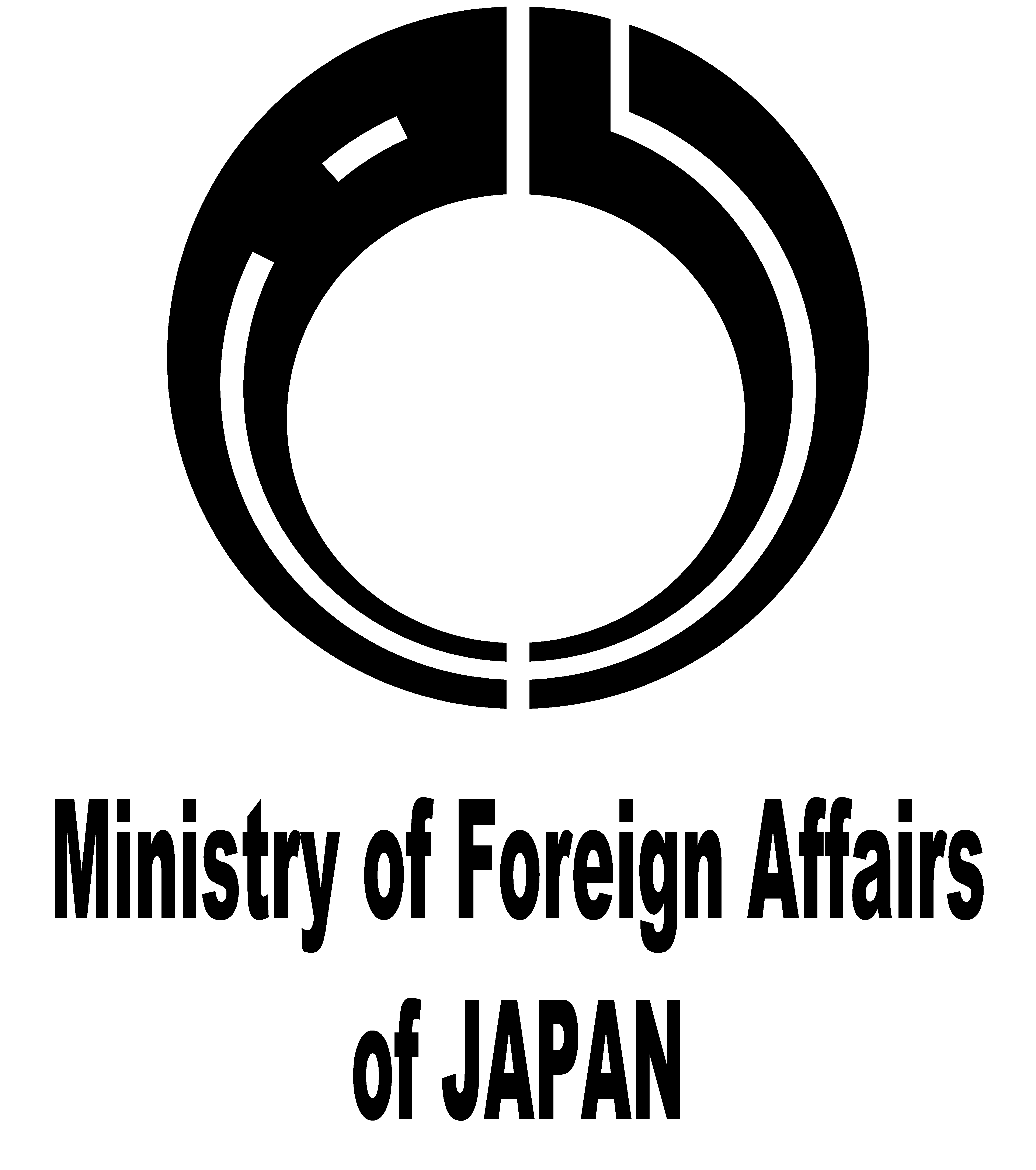 Logo of the Ministry of Foreign Affairs of Japan